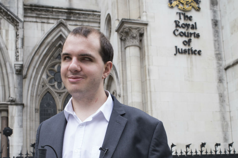 Tom Donnelly, a trainee barrister with the Government Legal Department