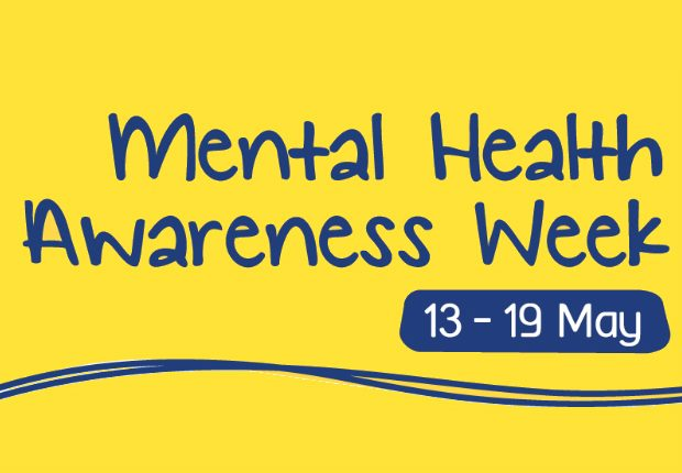 Graphic with 'Mental Health Awareness Week: 13-19 May' written on it